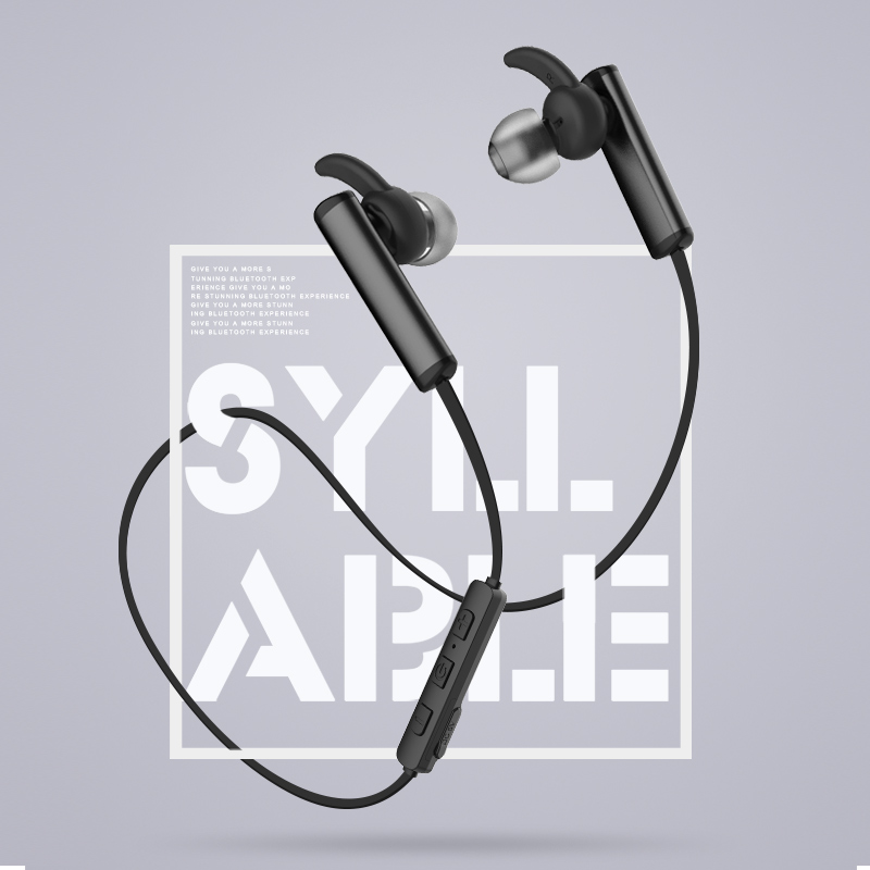 Syllable D300L Bluetooth Earbuds with Built-in Mic 4.2 Stereo