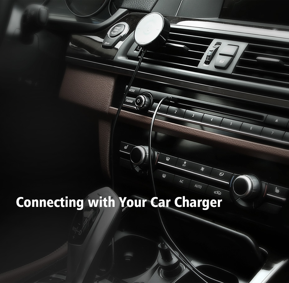 car charger receiver
