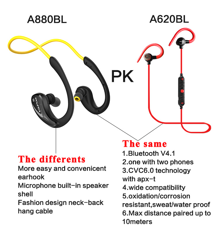 a880bl earphones