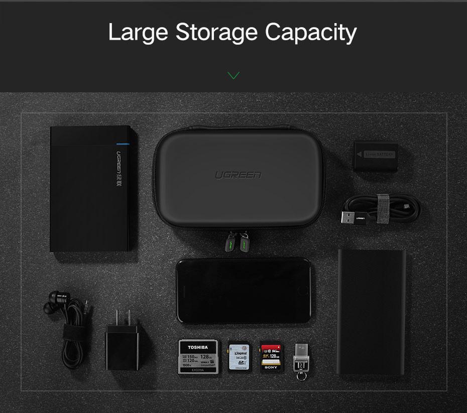 mini earphone storage bag