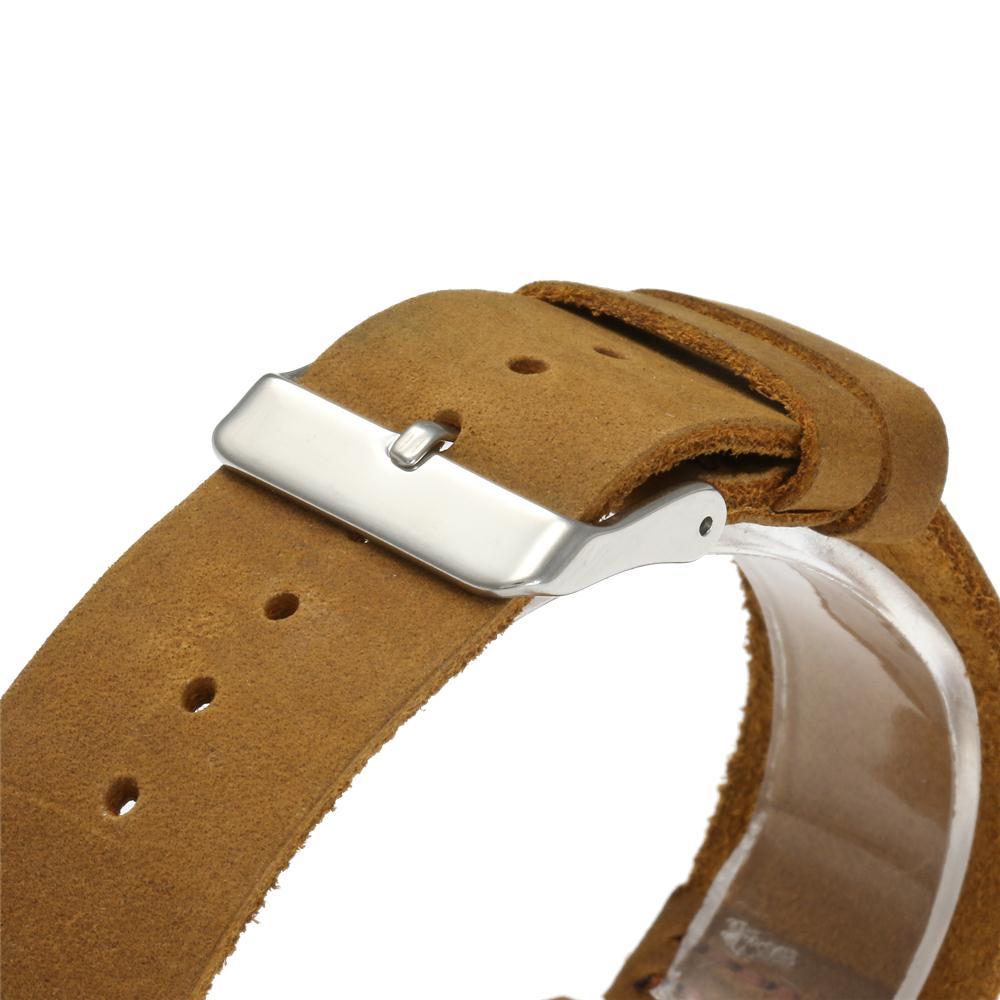 Redear SJ1448-2 Wooden Quartz Watch-Male Brown