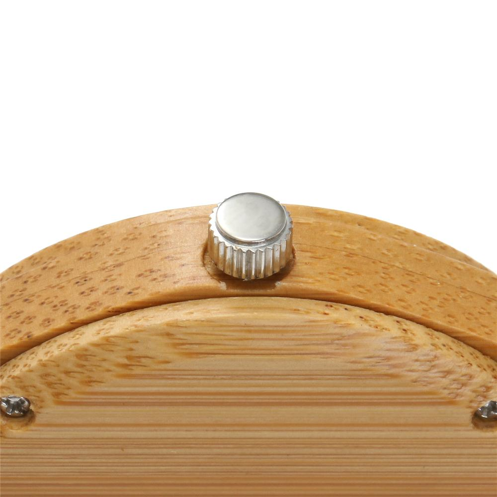 Redear SJ1448-6 Wooden Quartz Watch- Male Brown