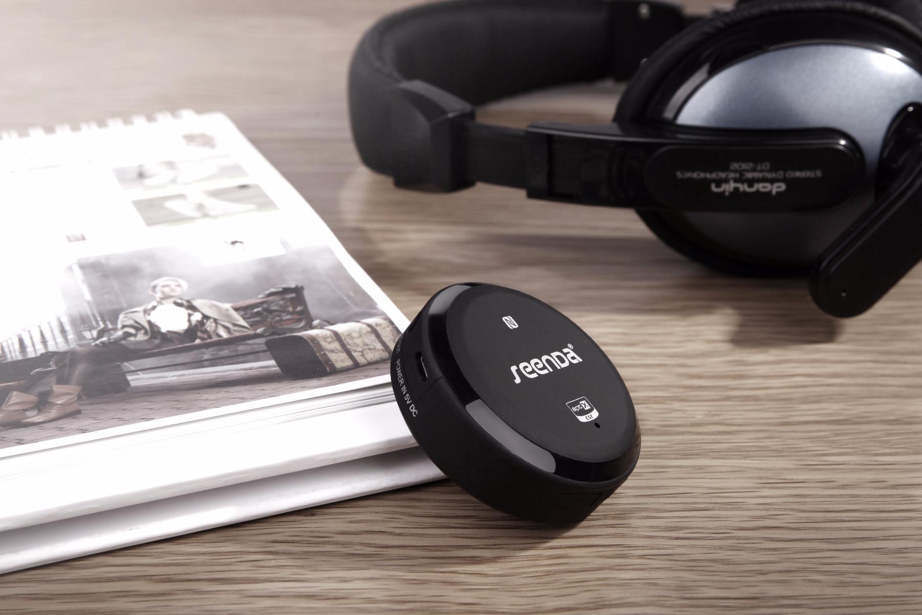 Seenda IBT-08B Desktop NFC Bluetooth Music Receiver