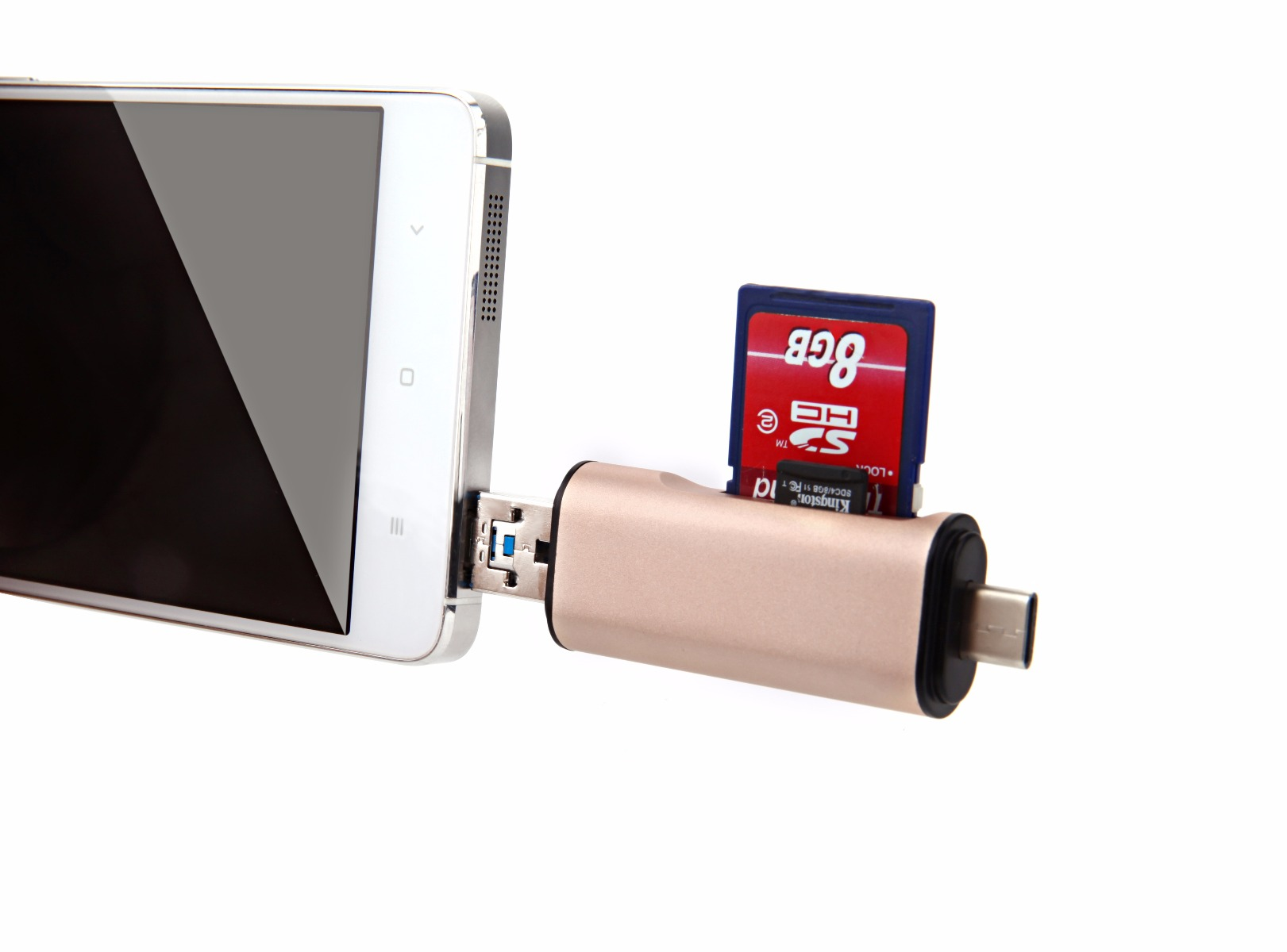 Seenda IHUB-10 USB / Type-C Card Reader