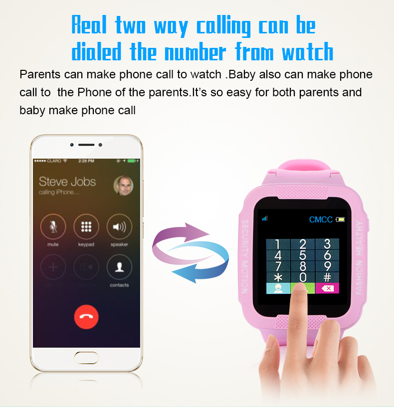 waterproof kids smart bracelet