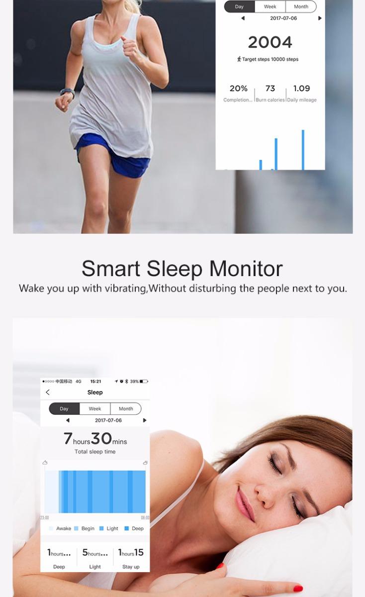 TOLEDA TLWT6 Smart Watch Bluetooth 4.0 Waterproof Heart Rate Monitoring