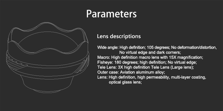universal lens for smartphone