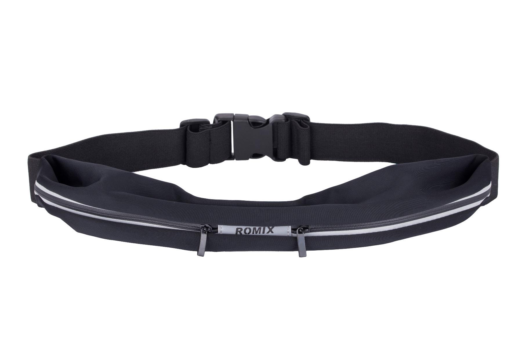 Romix Runners Belts - Outdoor Sports Waterproof Waist Double Bag for Phone