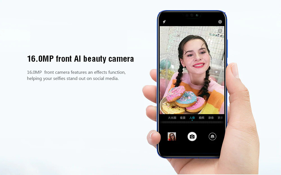 honor 8x smartphone