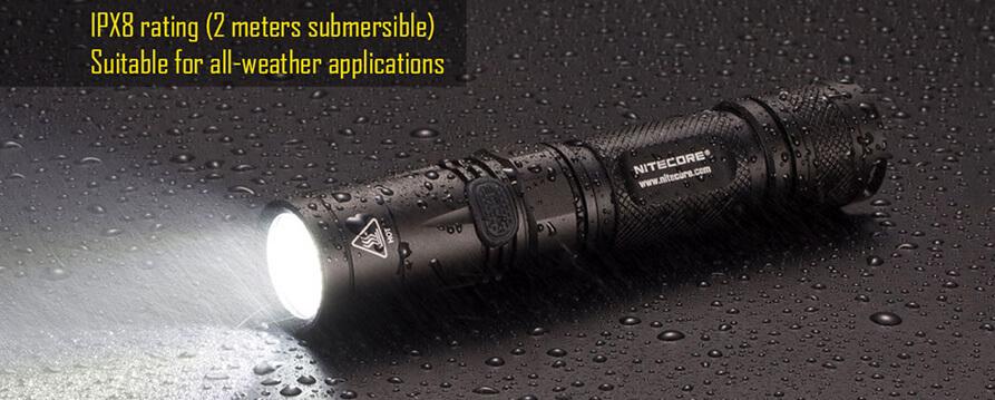 nitecore ec23 led flashlight