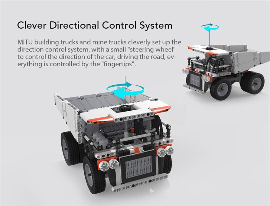 Xiaomi Mitu Building Block Mining Truck Unboxing