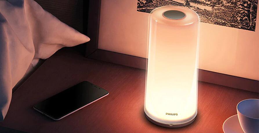 xiaomi philips zhirui bedside lamp