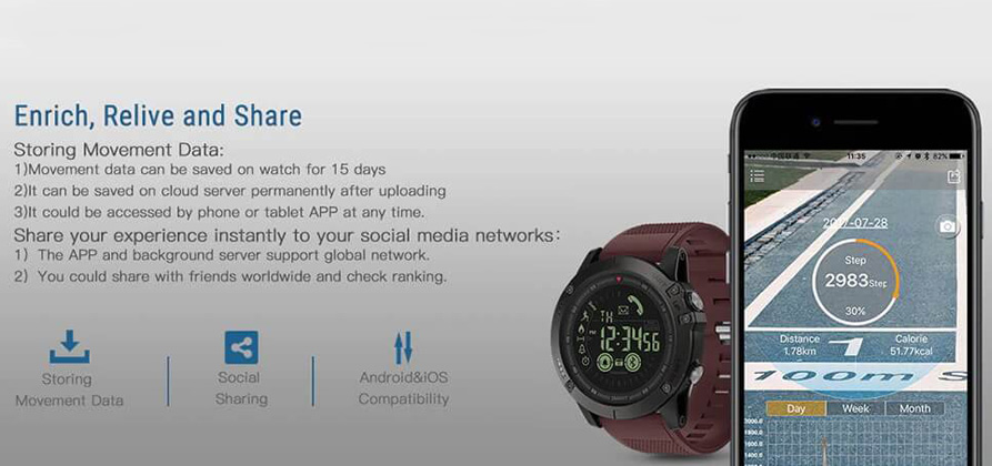 zeblaze vibe 3 outdoor smartwatch