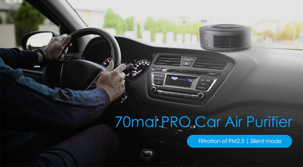 70mai pro car air purifier