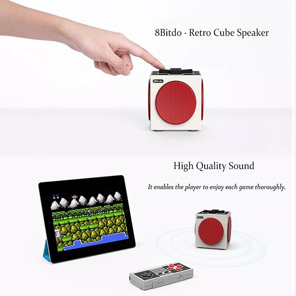 8bitdo retro cube stereo bluetooth speakers