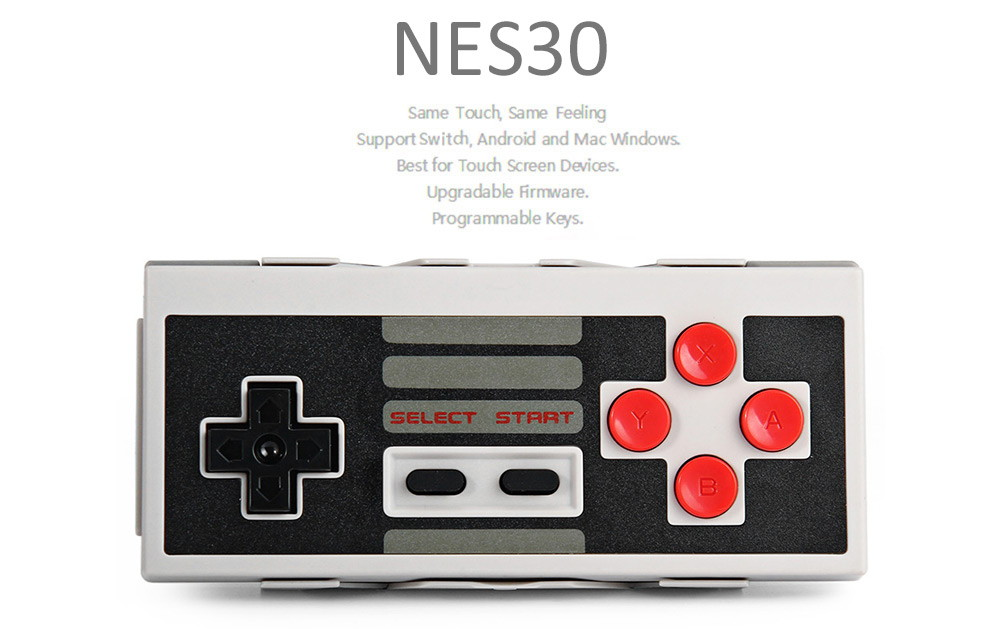 new 8bitdo n30 bluetooth game controller