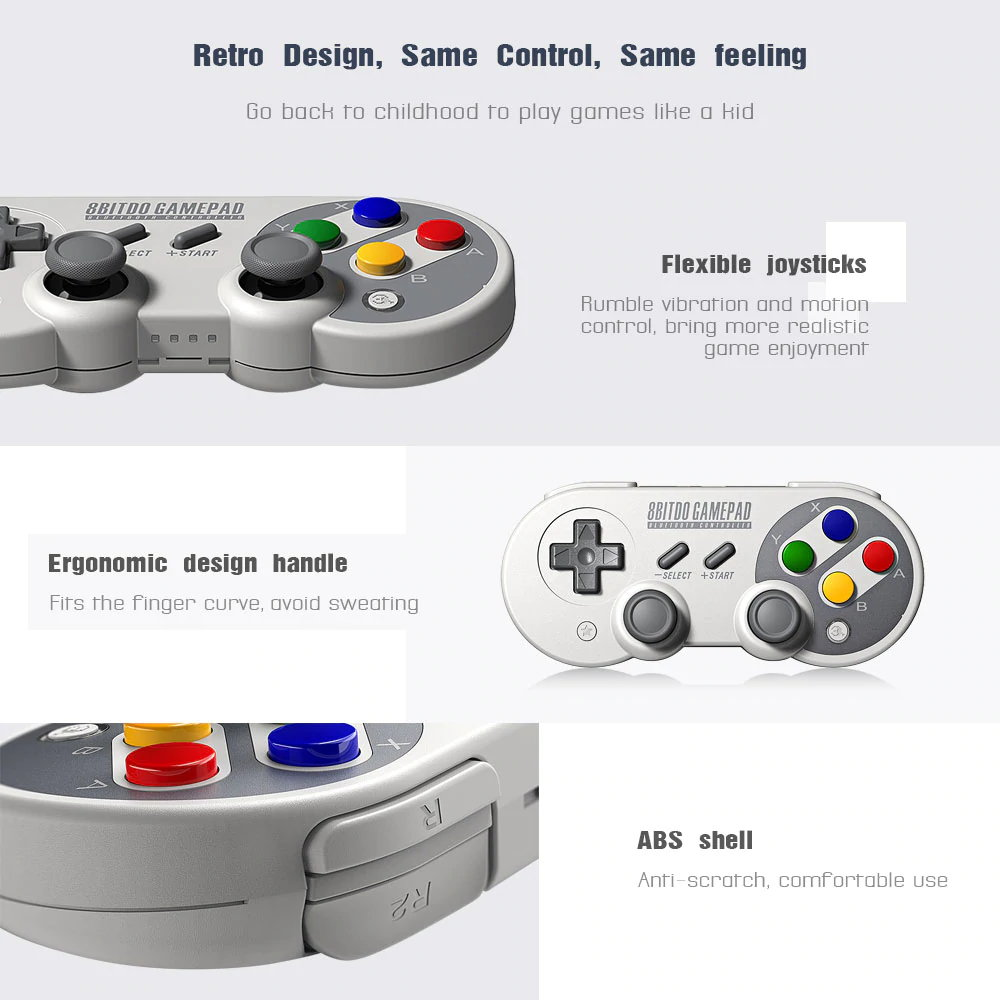 8bitdo sf30 pro wireless controller
