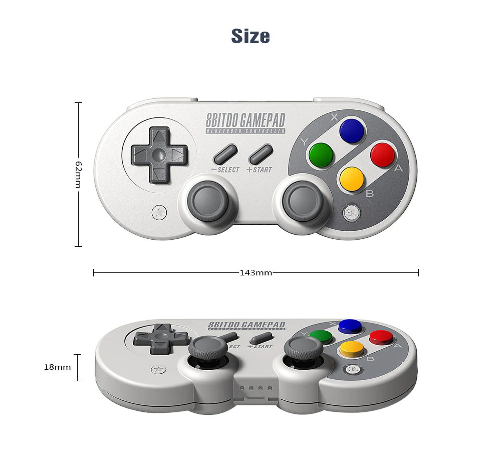 new 8bitdo sf30 pro wireless controller