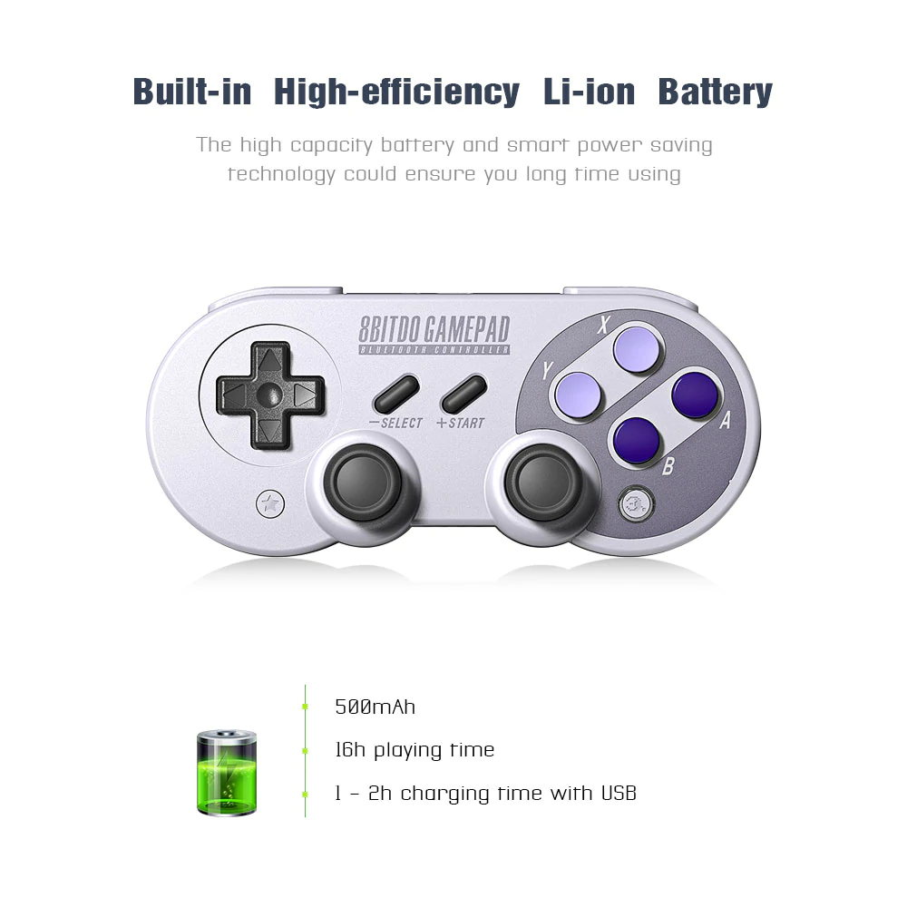 8bitdo sn30 pro bluetooth controller