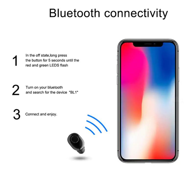 bl1 mini bluetooth earphone for sale