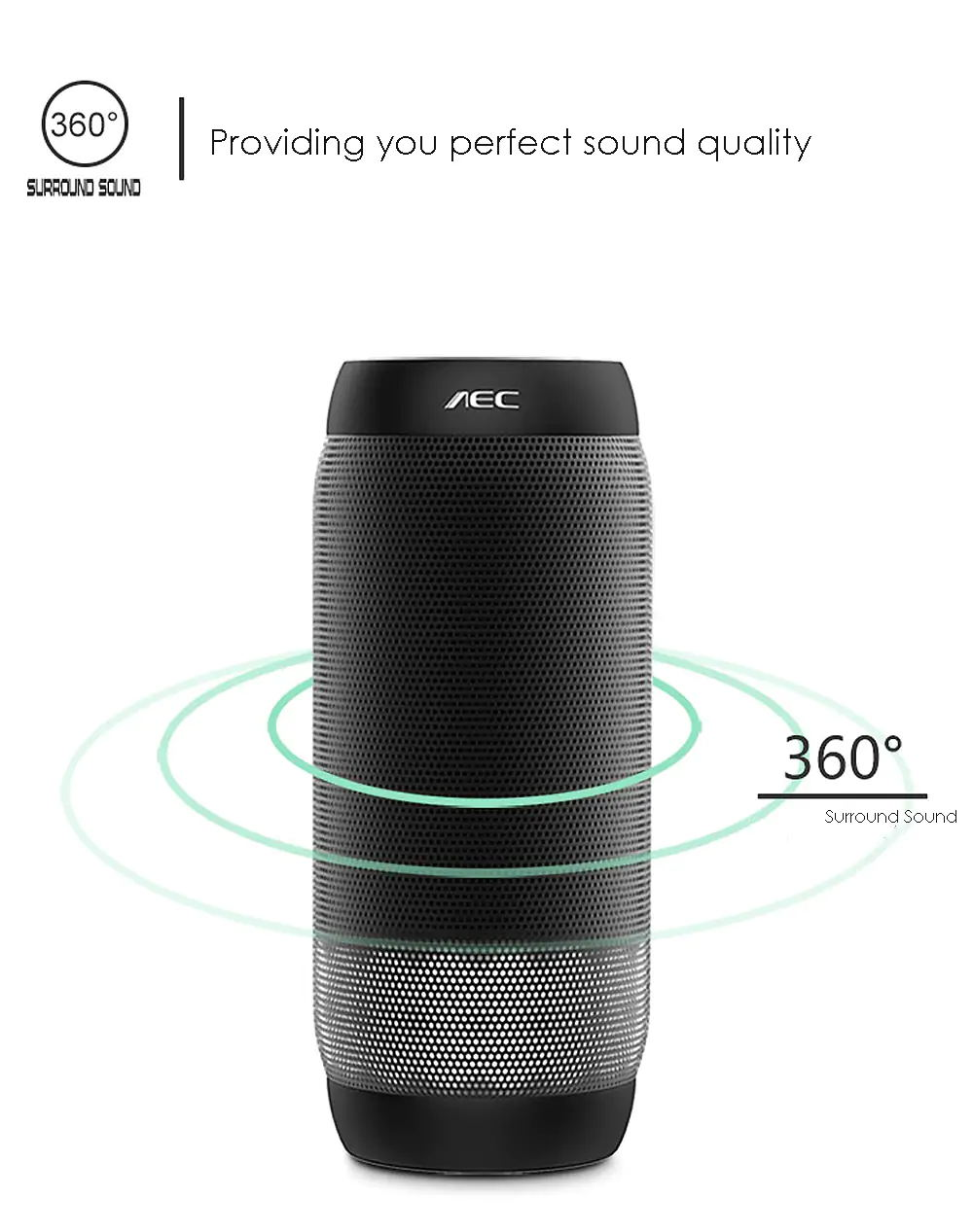 new aec bq-615 pro wireless speaker