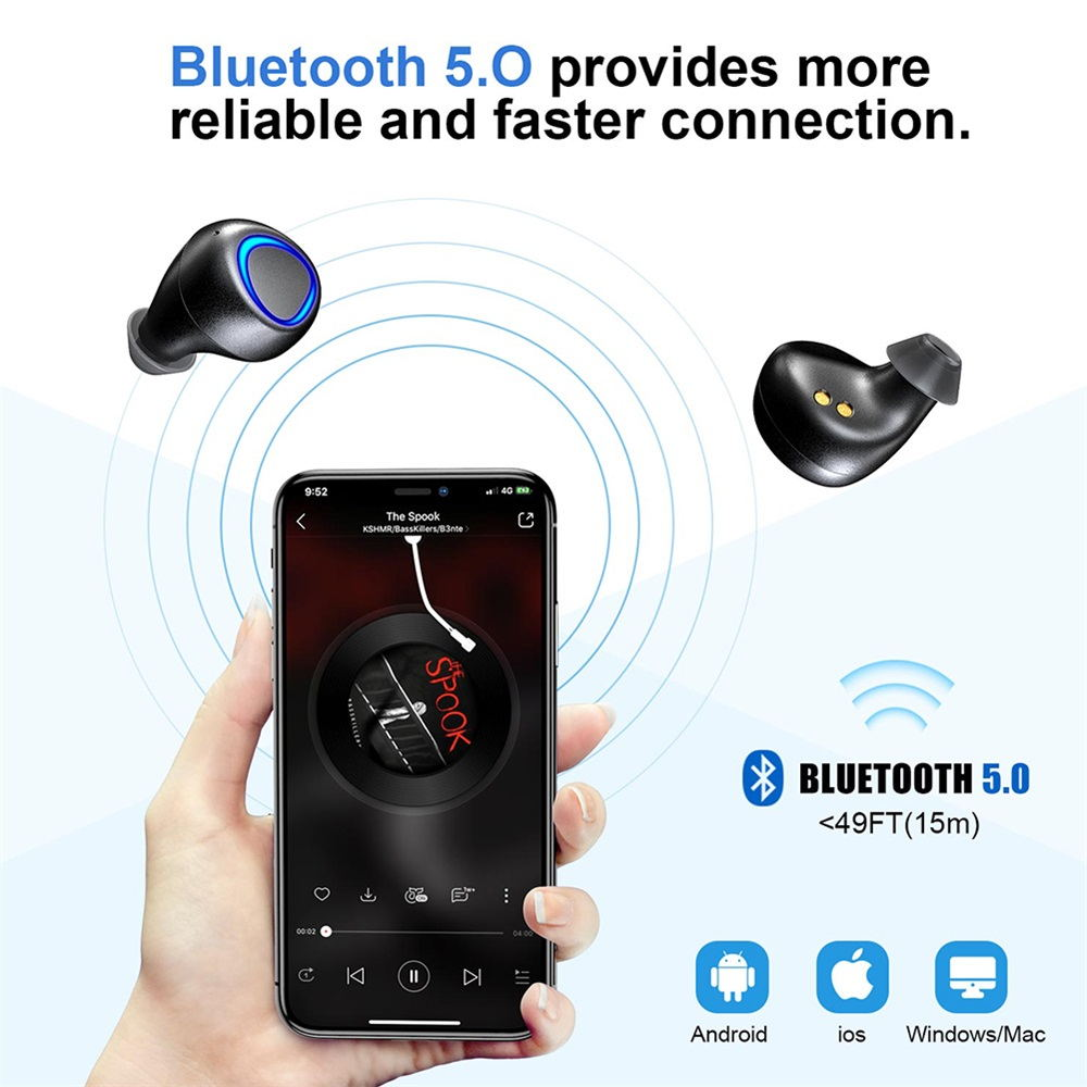 new bilikay ip010 plus wireless earbuds