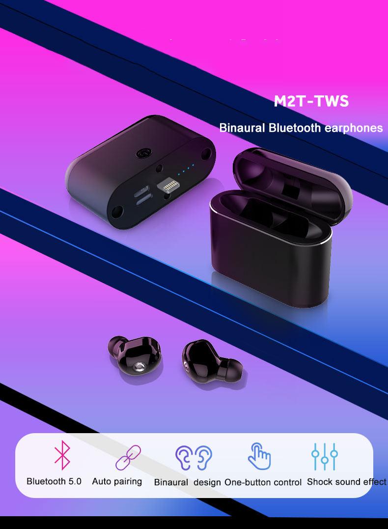 bilikay m2t tws bluetooth earphones