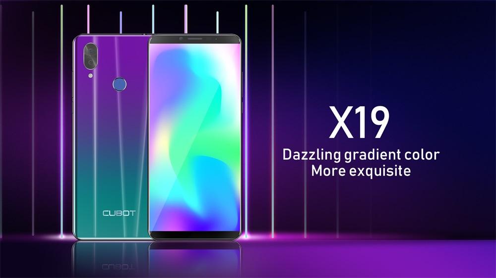 cubot x19 4g smartphone