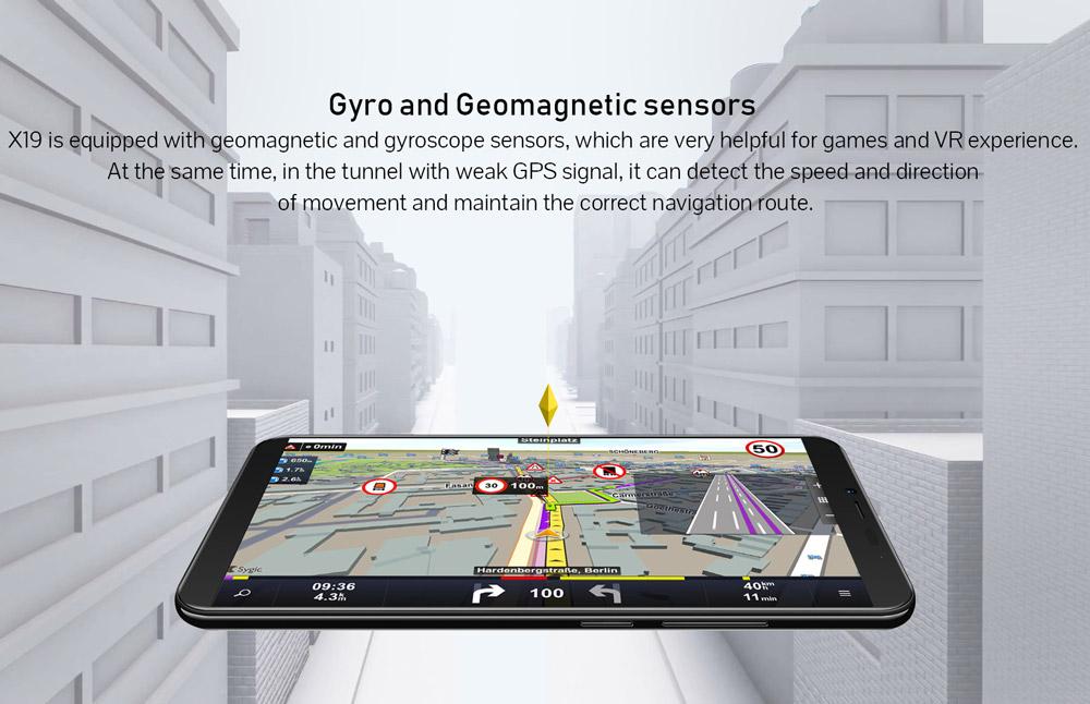 cubot x19 smartphone 4gb/64gb