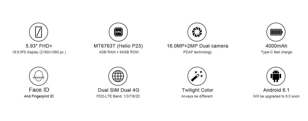 buy cubot x19 4g smartphone