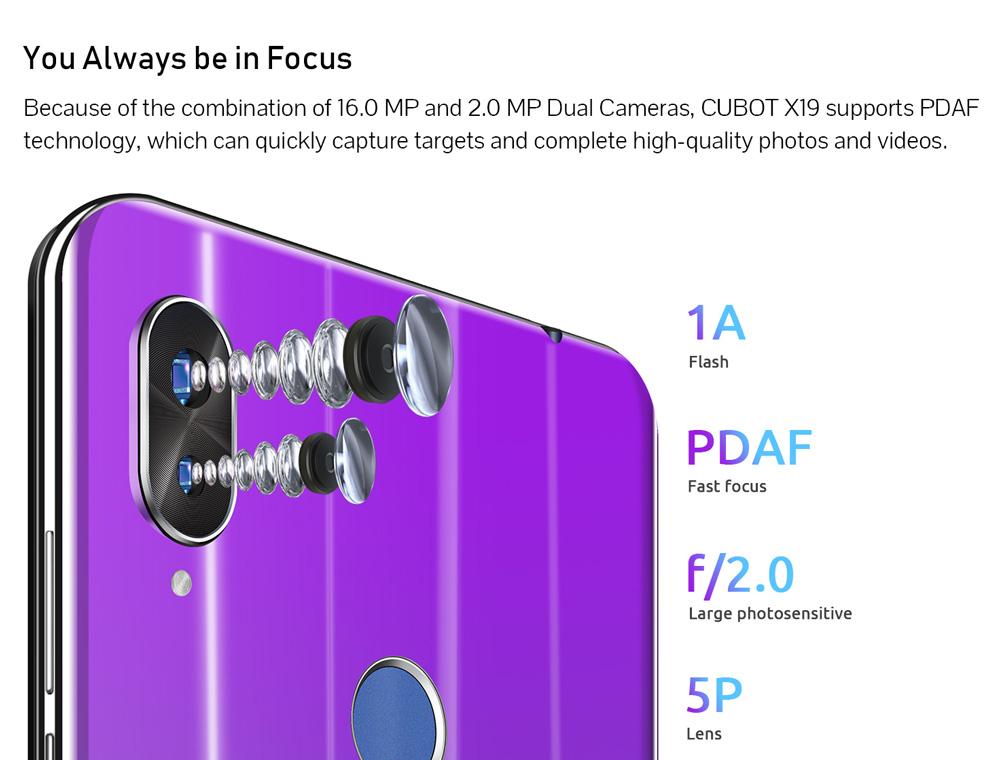 buy cubot x19 smartphone