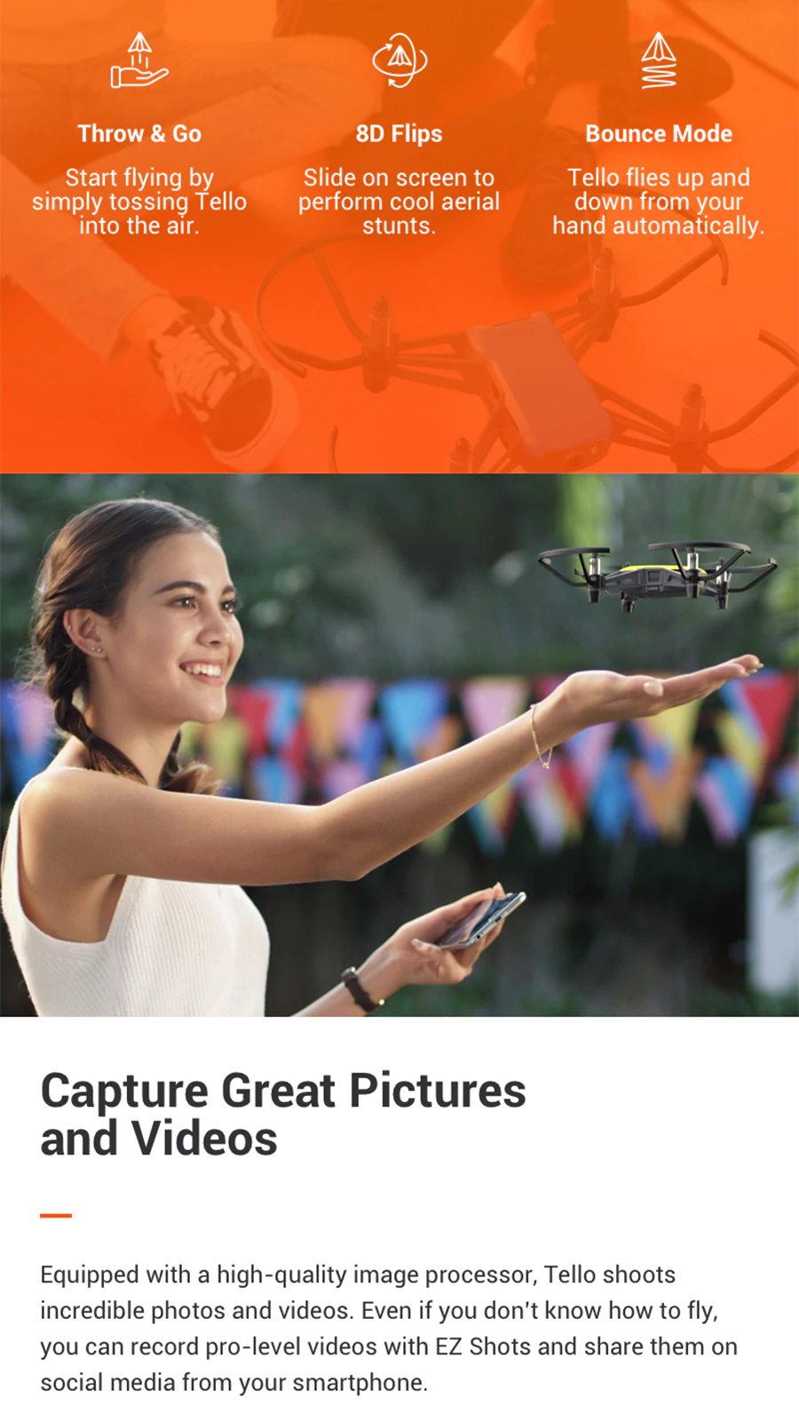 dji tello mini toy drone for sale
