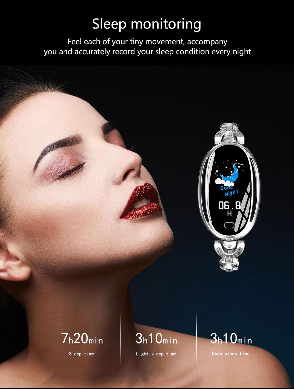 e68 smart bluetooth wristband for sale