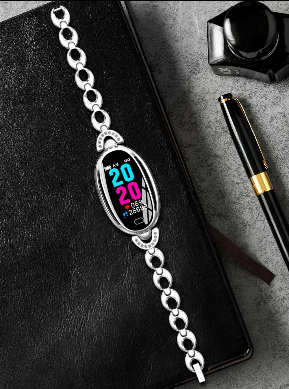 new e68 smart women bracelet