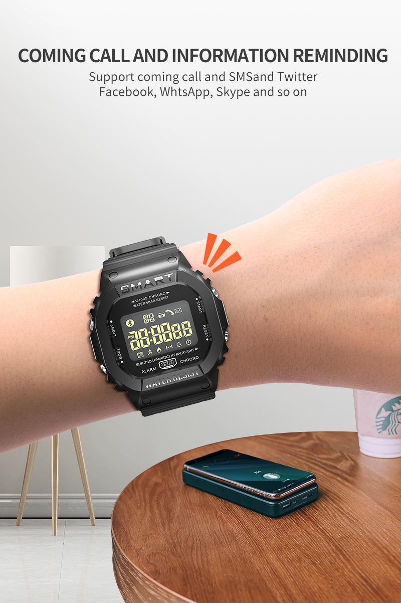 new ex16t bluetooth sport smartwatch