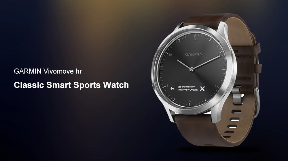garmin vivomove hr classic smartwatch
