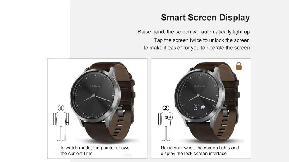 new garmin vivomove hr classic smartwatch