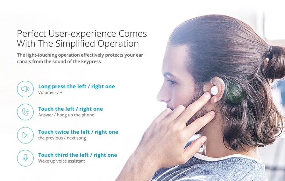 2019 meizu pop tw50 bluetooth earphones