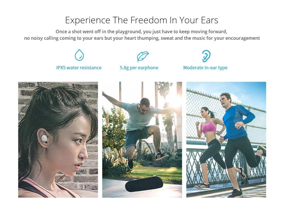 meizu pop tw50 wireless earphones for sale