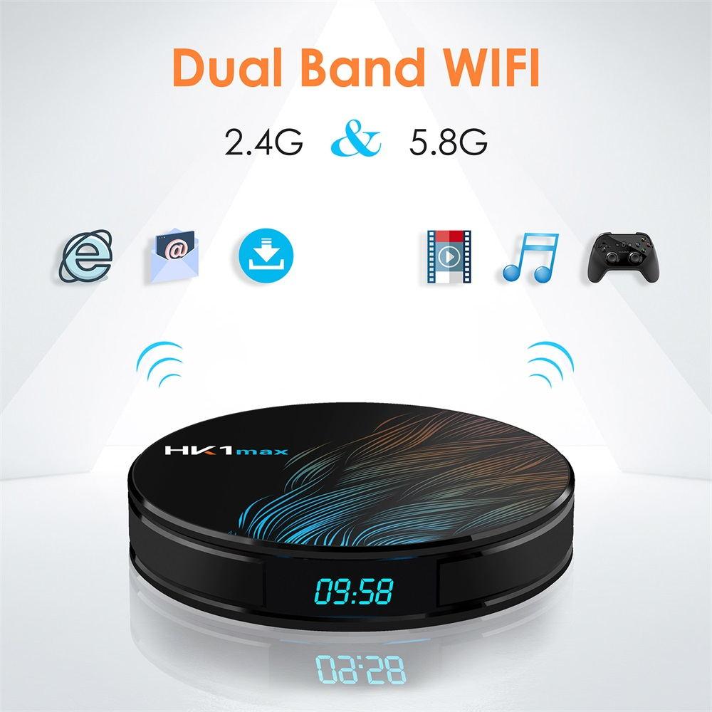 hk1 max tv box 4gb/64gb for sale