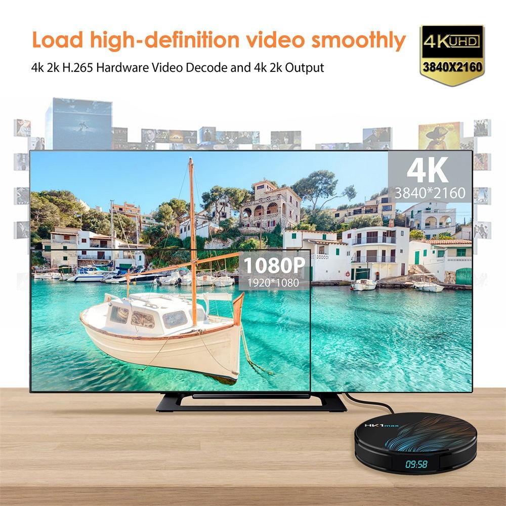 hk1 max android tv box 4gb/64gb