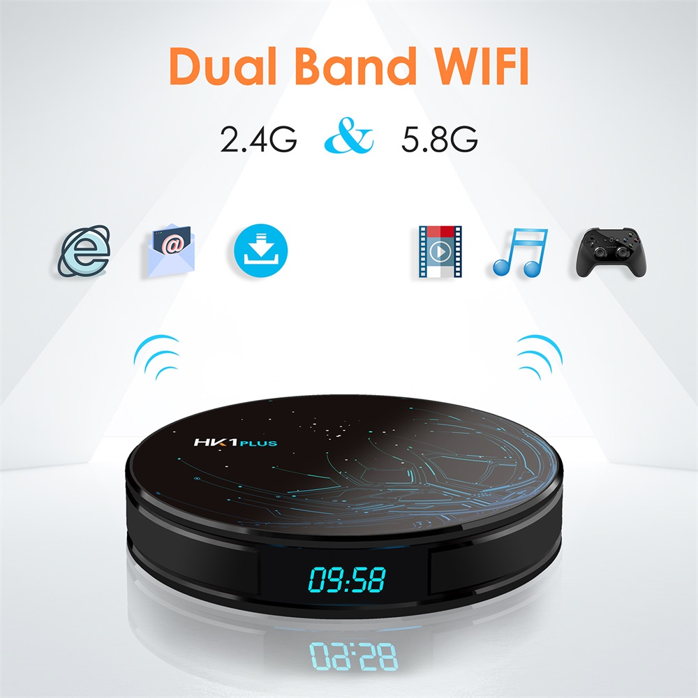 buy hk1 plus s905x2 tv box 2gb/16gb