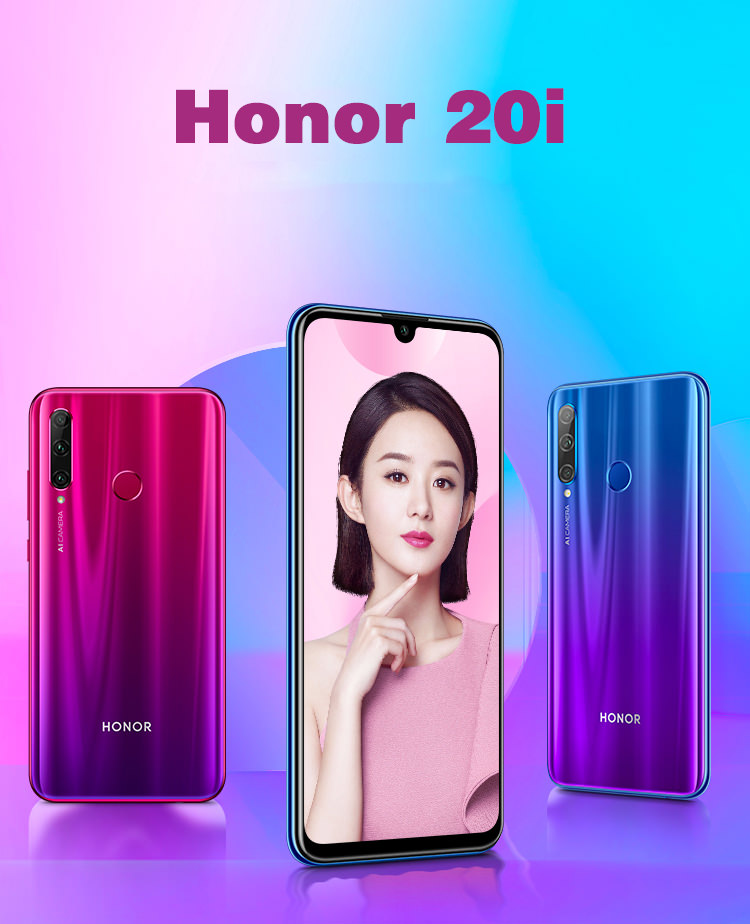 Huawei Honor 20i 4g teléfono inteligente de 6 gb / 64 gb