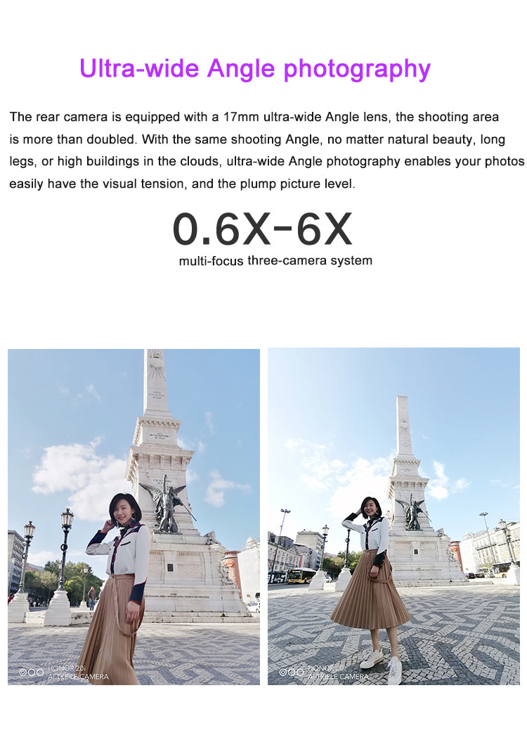 2019 huawei honor 20i 4g smartphone 6gb/64gb