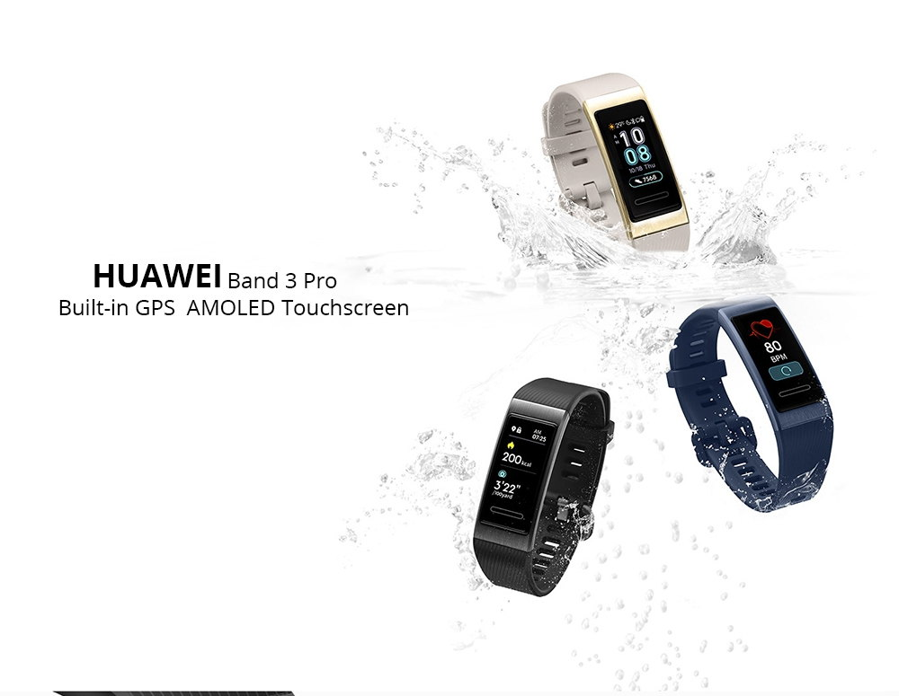 Huawei Band 3 Pro te permite enamorarte fácilmente de los deportes Huawei-Band-3-Pro-Smart-Band-1