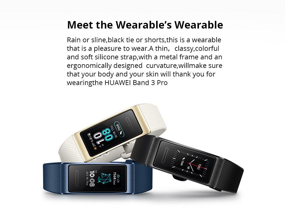 new huawei band 3 pro smart wristband