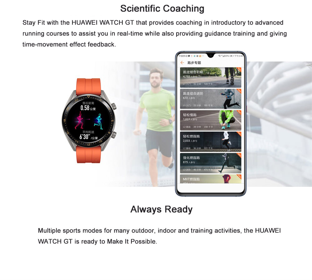 2019 huawei watch gt smartwatch active edition