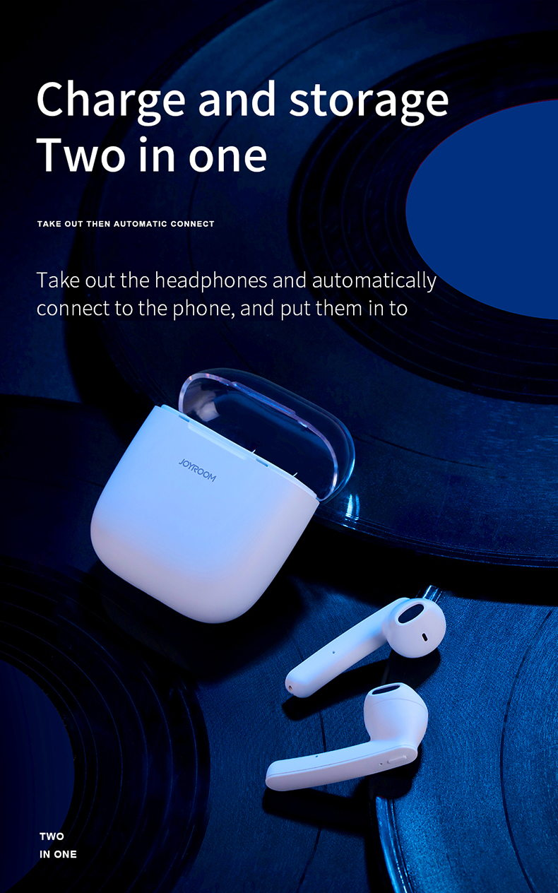 2019 joyroom t04 tws bluetooth earphone