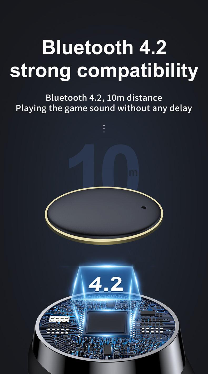 joyroom t05 sports earphone bluetooth 4.2
