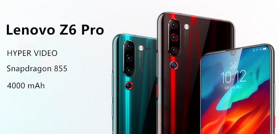 Lenovo Z6 Pro - cámara cuádruple AI de 48MP, Snapdragon 855, batería de 4000mAh Lenovo-Z6-Pro-4G-Smartphone-1